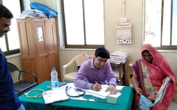 Health Check Up Camp at Lunawada